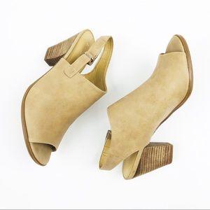 Naturalizer Number 5 Comfort Open Toe Velcro Boots